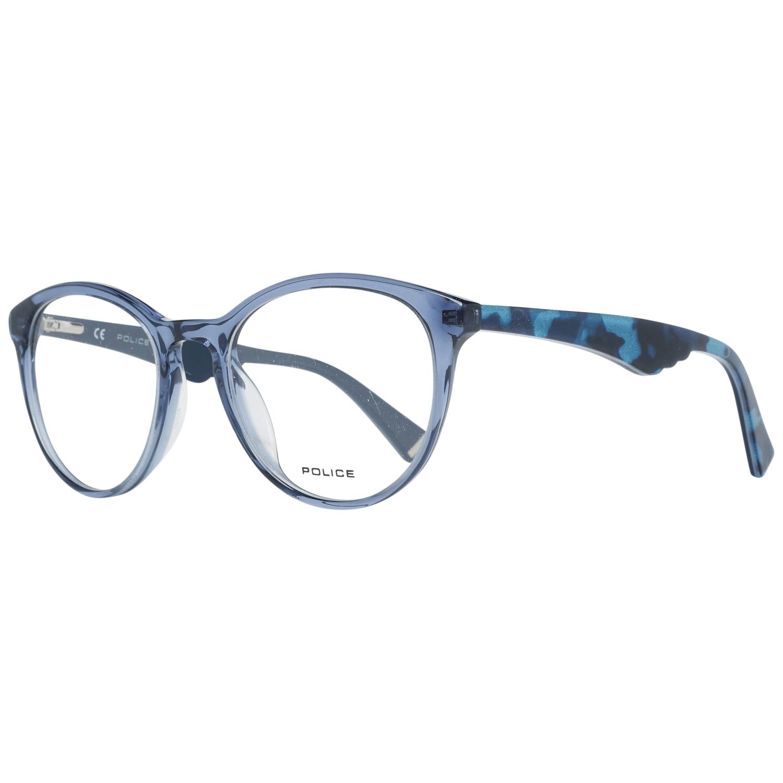 Police Women's Optical Frames Eyewear Blue VPL764 500955