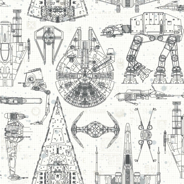 RoomMates Sisustustarrat, Star Wars