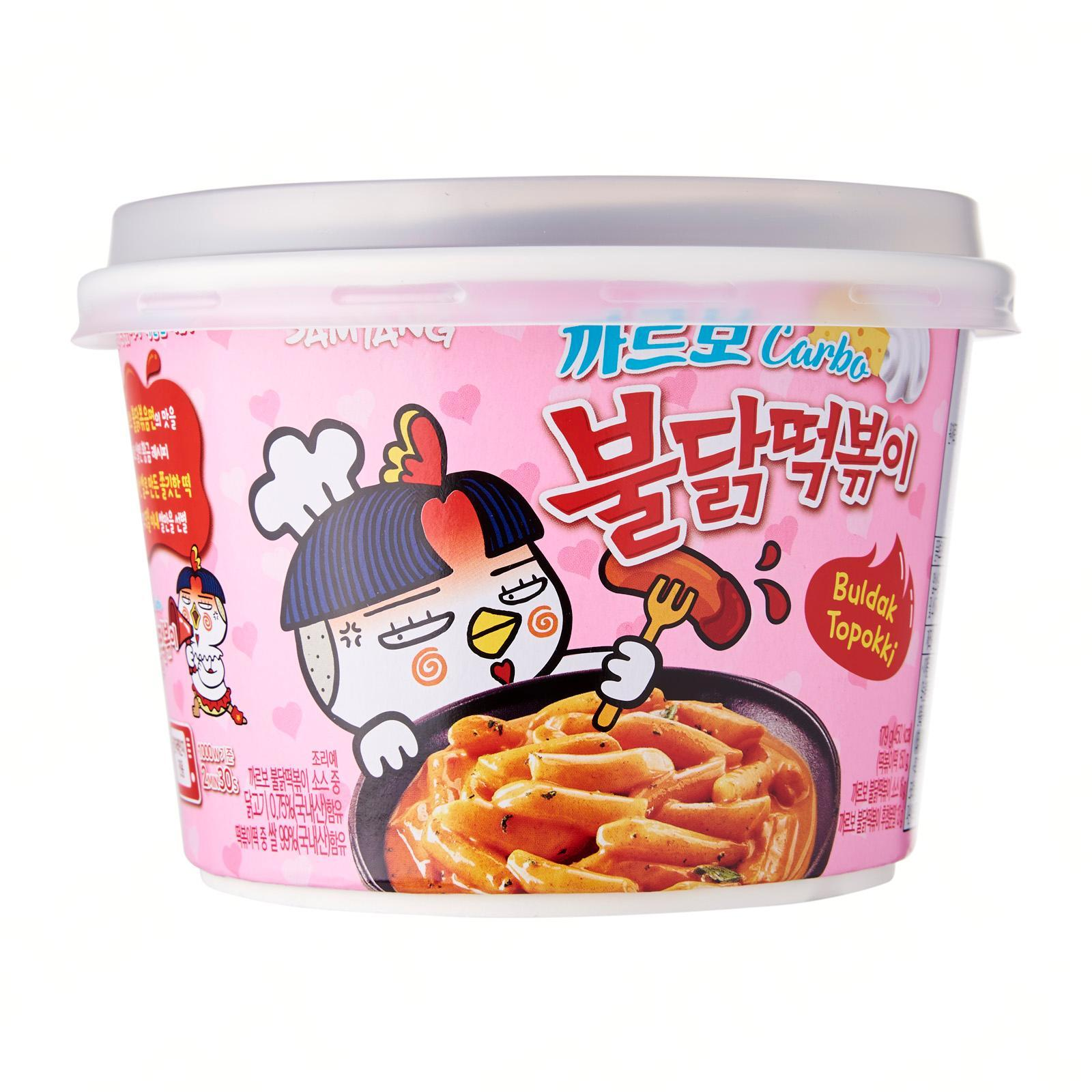 Samyang Hot Chicken Flavor Carbo Topokki 179g