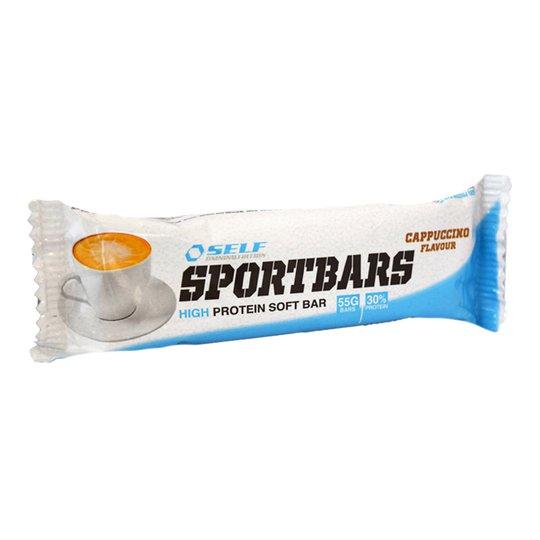 Sportbar Cappucino 55g - 25% rabatt