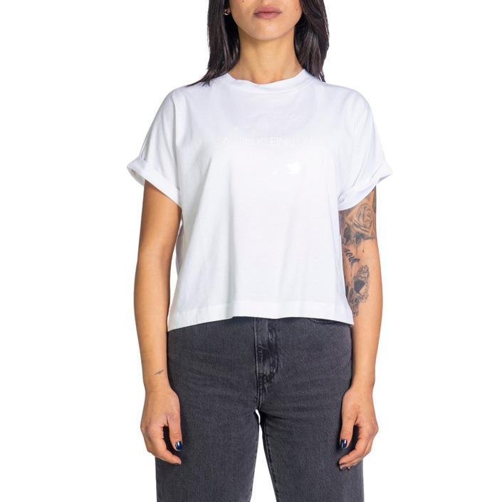 Calvin Klein Jeans Women's Tank Top White 216111 - white XS