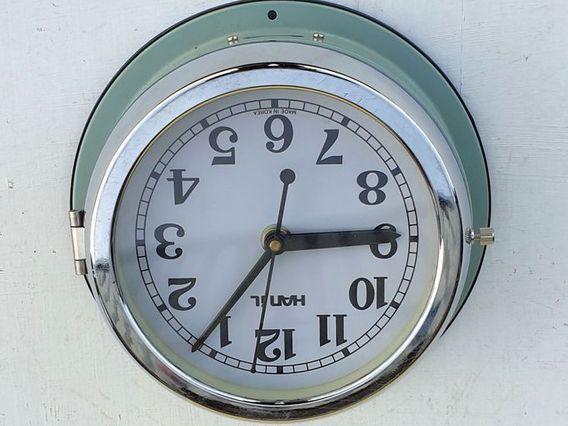 Reclaimed Ship's Clock by Hanil