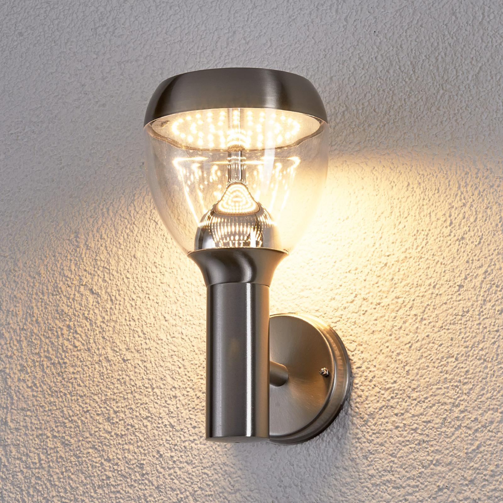 LED-ulkoseinävalaisin Etta ruostum. teräksestä