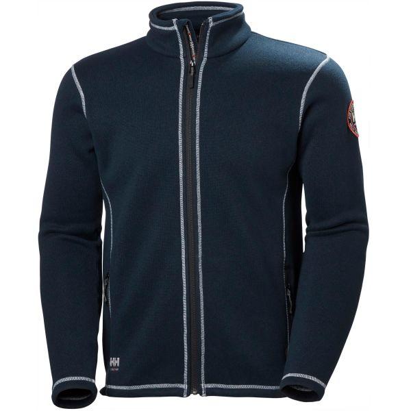 Helly Hansen Workwear Hay River Fleecejacka marinblå S