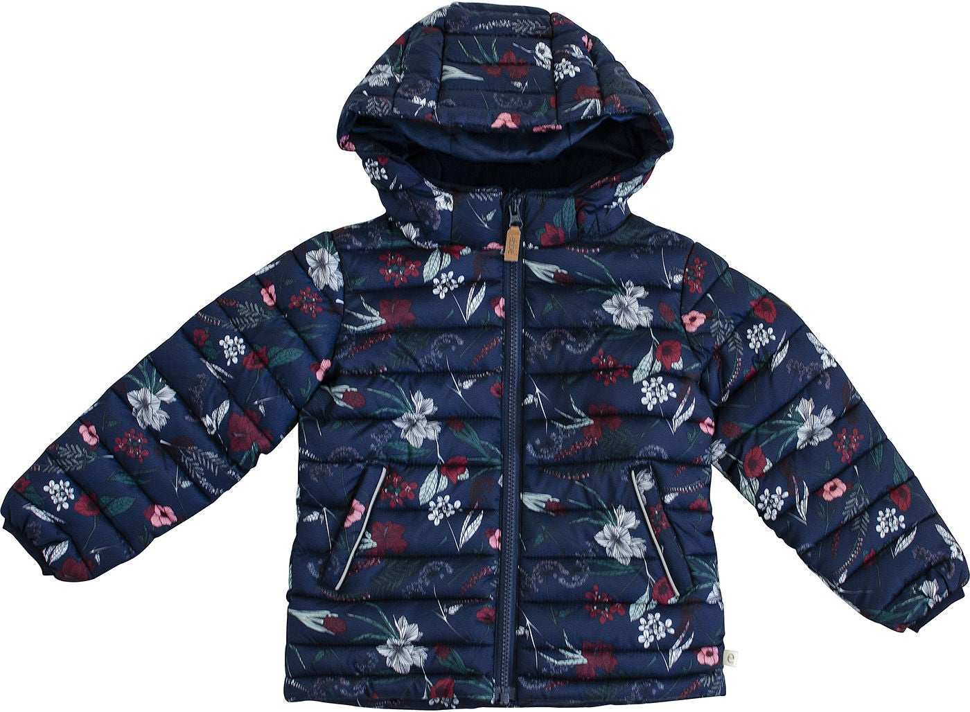 Ebbe Dacia Quilted Jacka, Flower Print 134