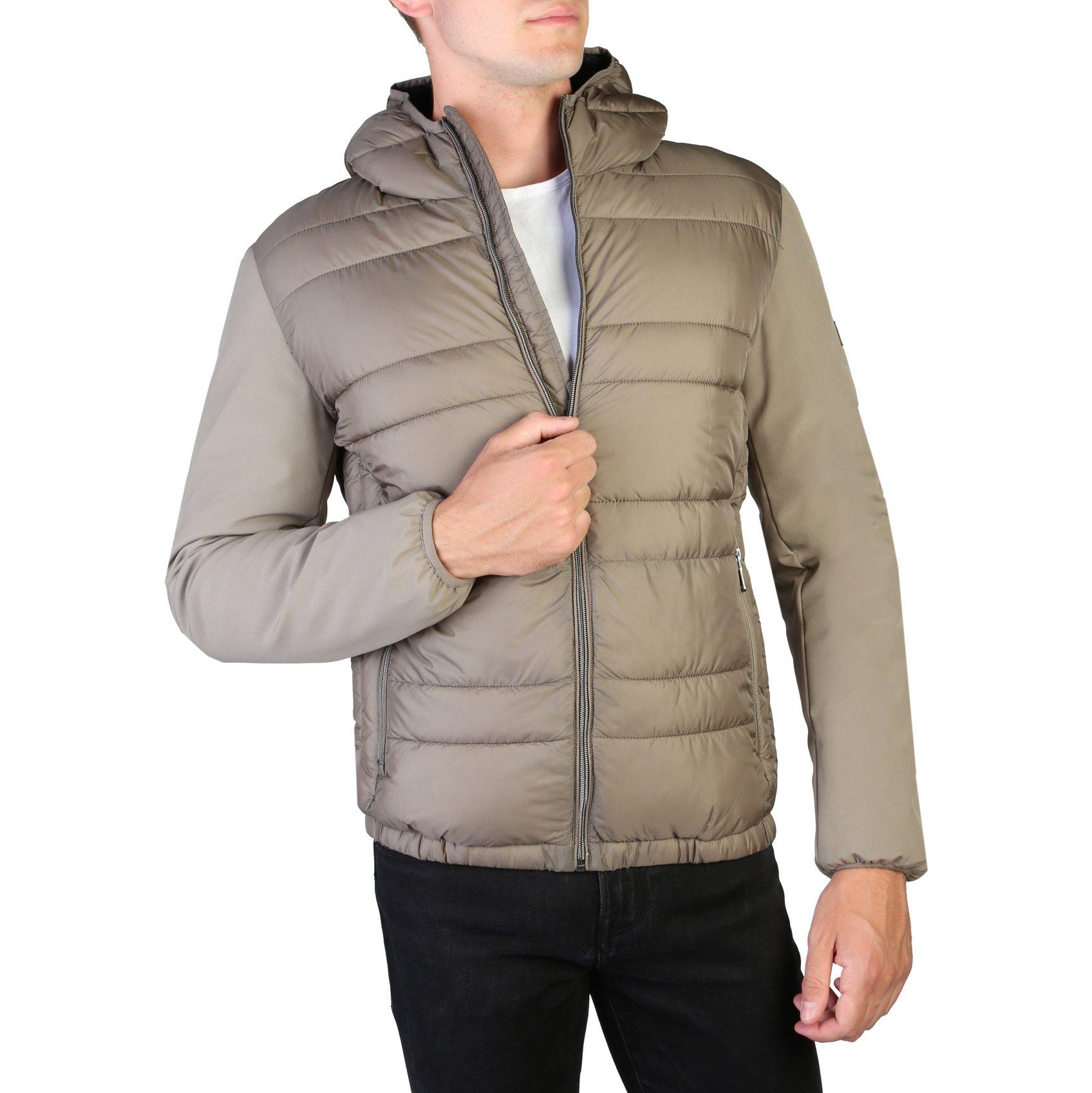 Yes Zee Men's Jacket Grey J876_M900 - brown S