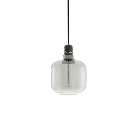 Amp Lampe Svart S