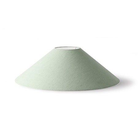 triangle Lampeskjerm L mint Green jute