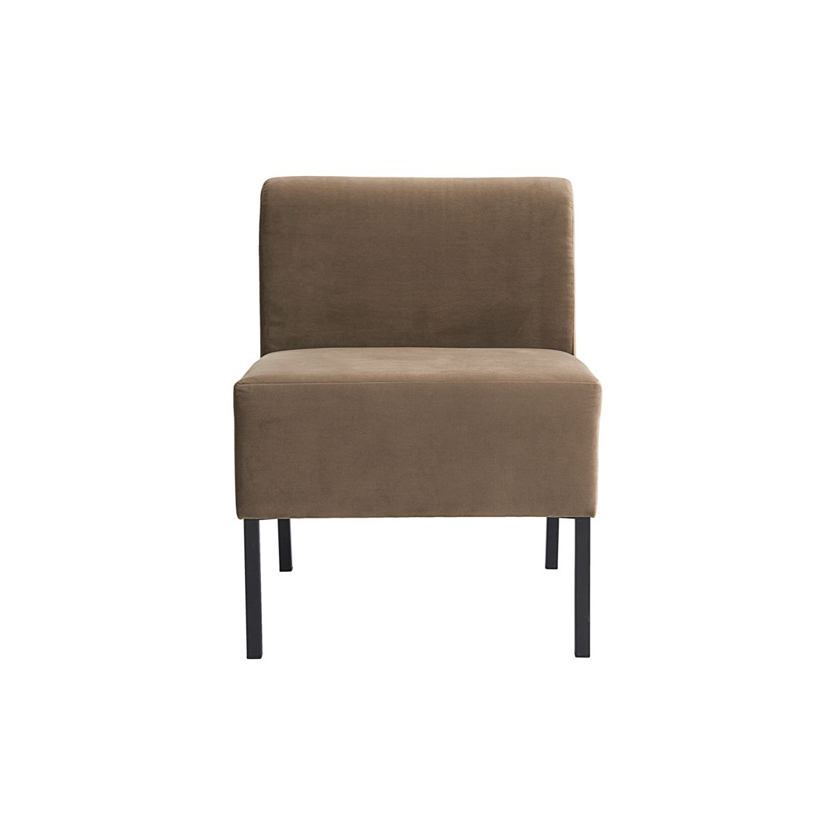 Hög soffa 1- sits modul Sand, House Doctor