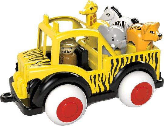 Viking Toys Kjøretøy Safari Jeep Med Djur