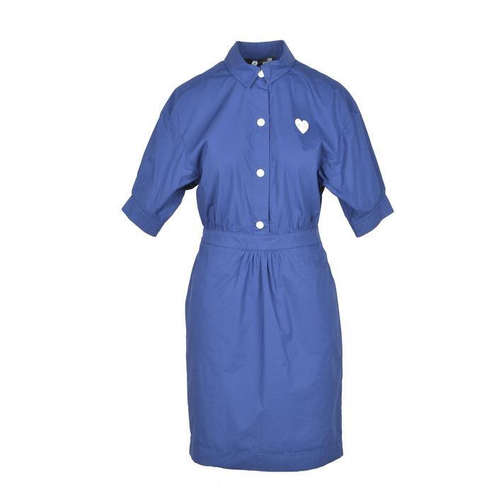 Love Moschino Women's Dress Blue 223990 - blue 44
