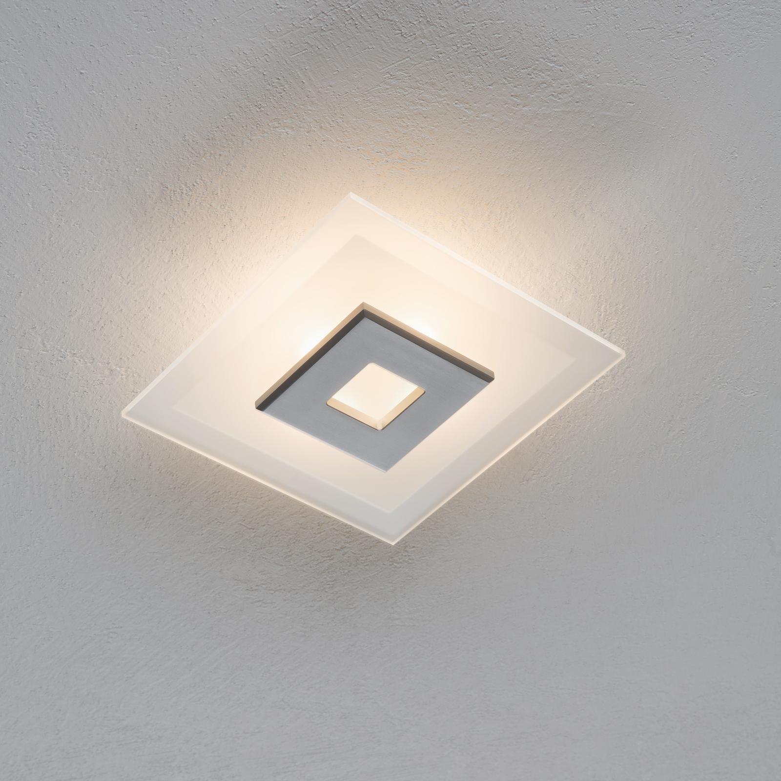 LED-kattovalaisin Tian, lasivarjostin, 25 cm