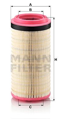 Ilmansuodatin MANN-FILTER C 23 800