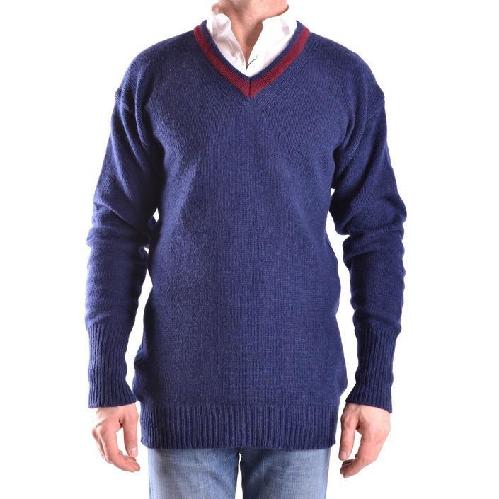 Daniele Alessandrini Men's Sweater Blue 163116 - blue 48