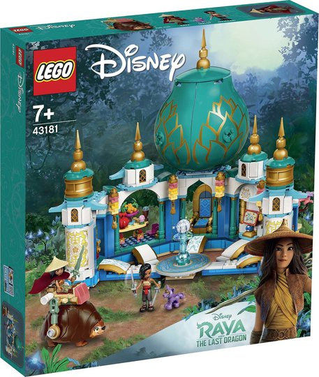 LEGO Disney Princess 43181 Raya og Hjertepalasset