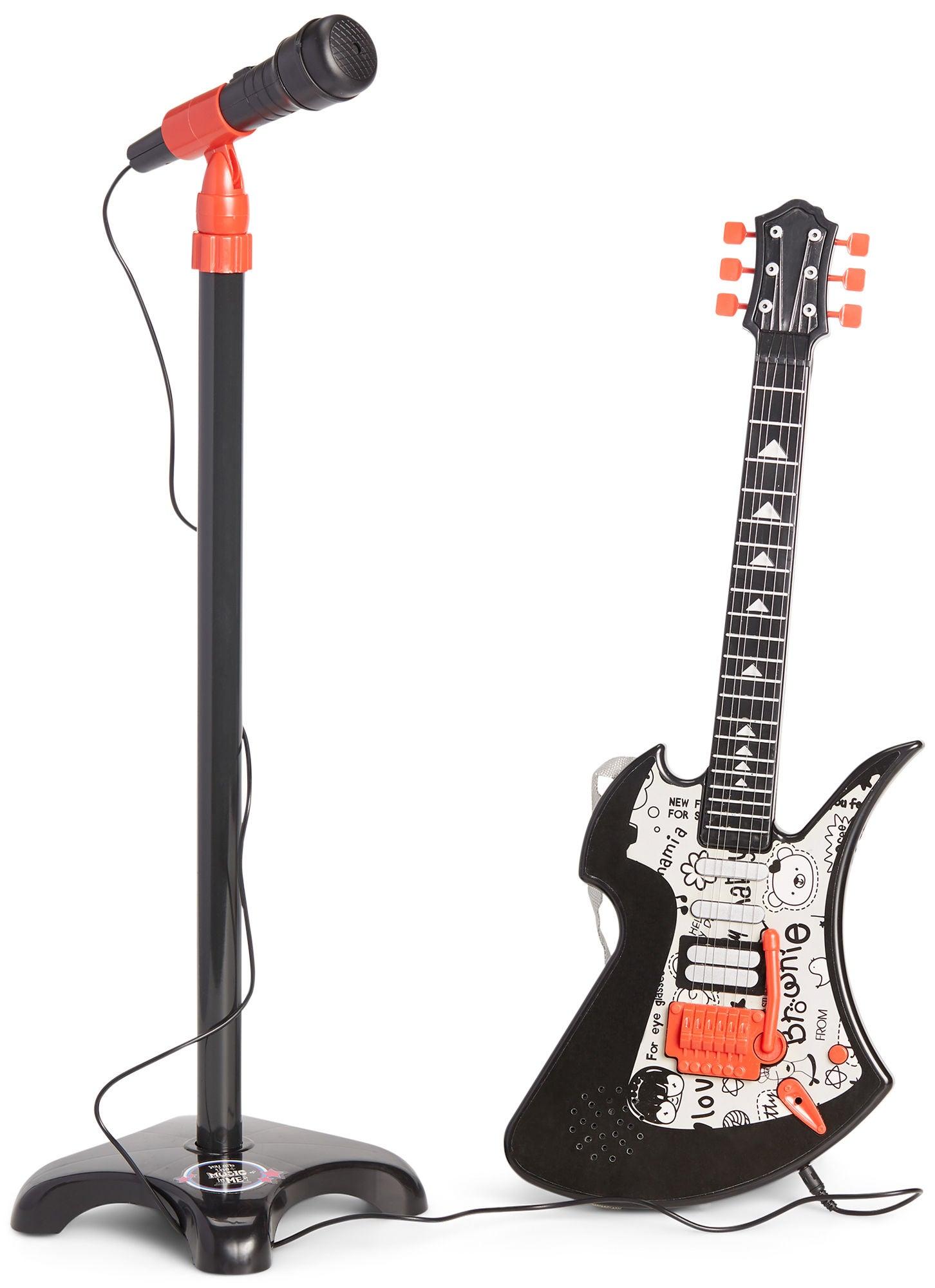 Cloudberry Castle Sähkökitara ja Mikrofoni Rock