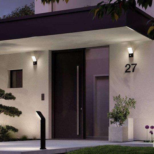 Paulmann Adya utendørs LED-vegglampe med sensor