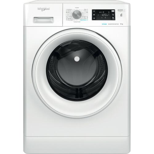 Whirlpool Ffb 8638 Wv Eu Steamcare & 8 Kg Tvättmaskin - Vit