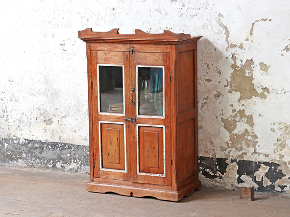 Free Standing Vintage Cabinet Brown