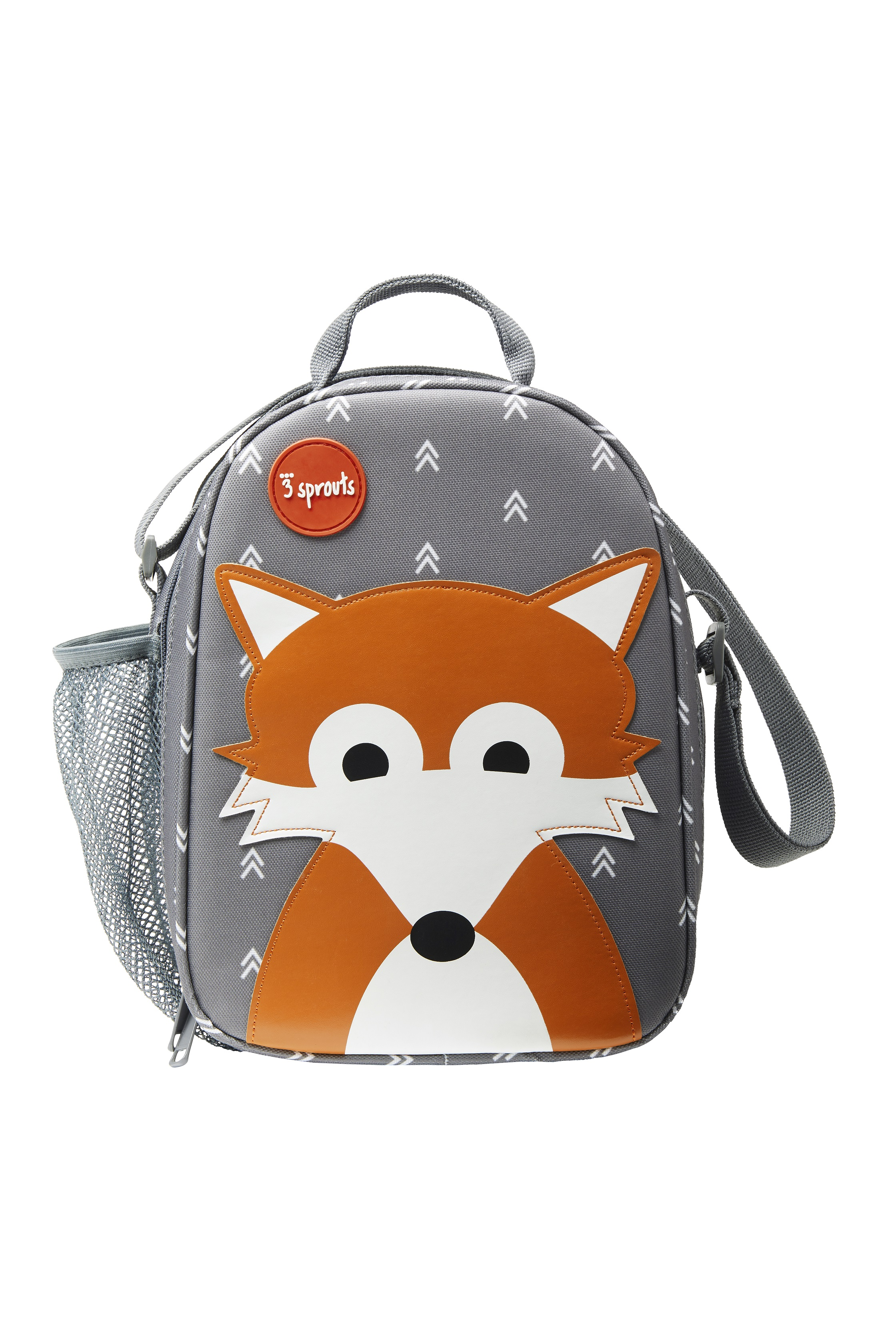 3 Sprouts - Lunch Bag - Gray Fox