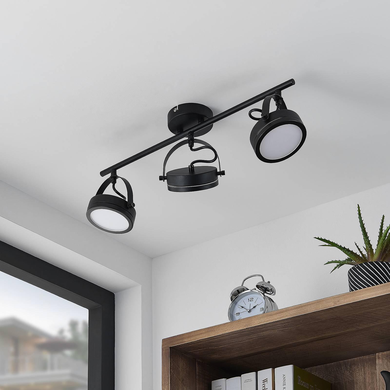 Lindby Omila -LED-kattokohdevalo, 3-lamppuinen