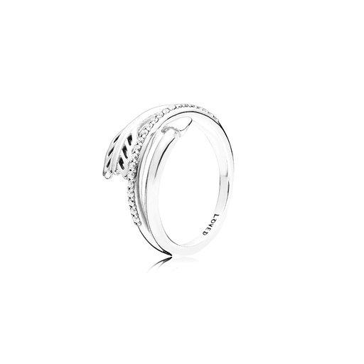 Ring i äkta silver, 56
