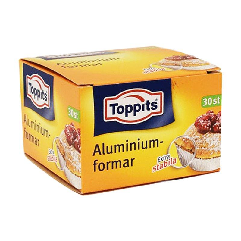 Alumiiniset leivontavuoat 30 kpl - 22% alennus