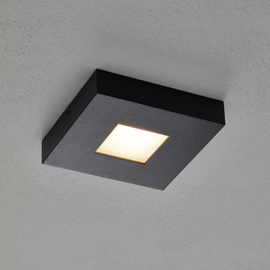 LED-kattovalaisin Cubus mustana