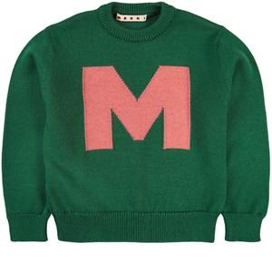 Marni M Logo Tröja Grön 4 år