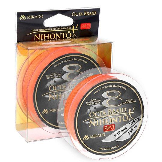Mikado Nihonto Octa Braid orange 150 m flätlina