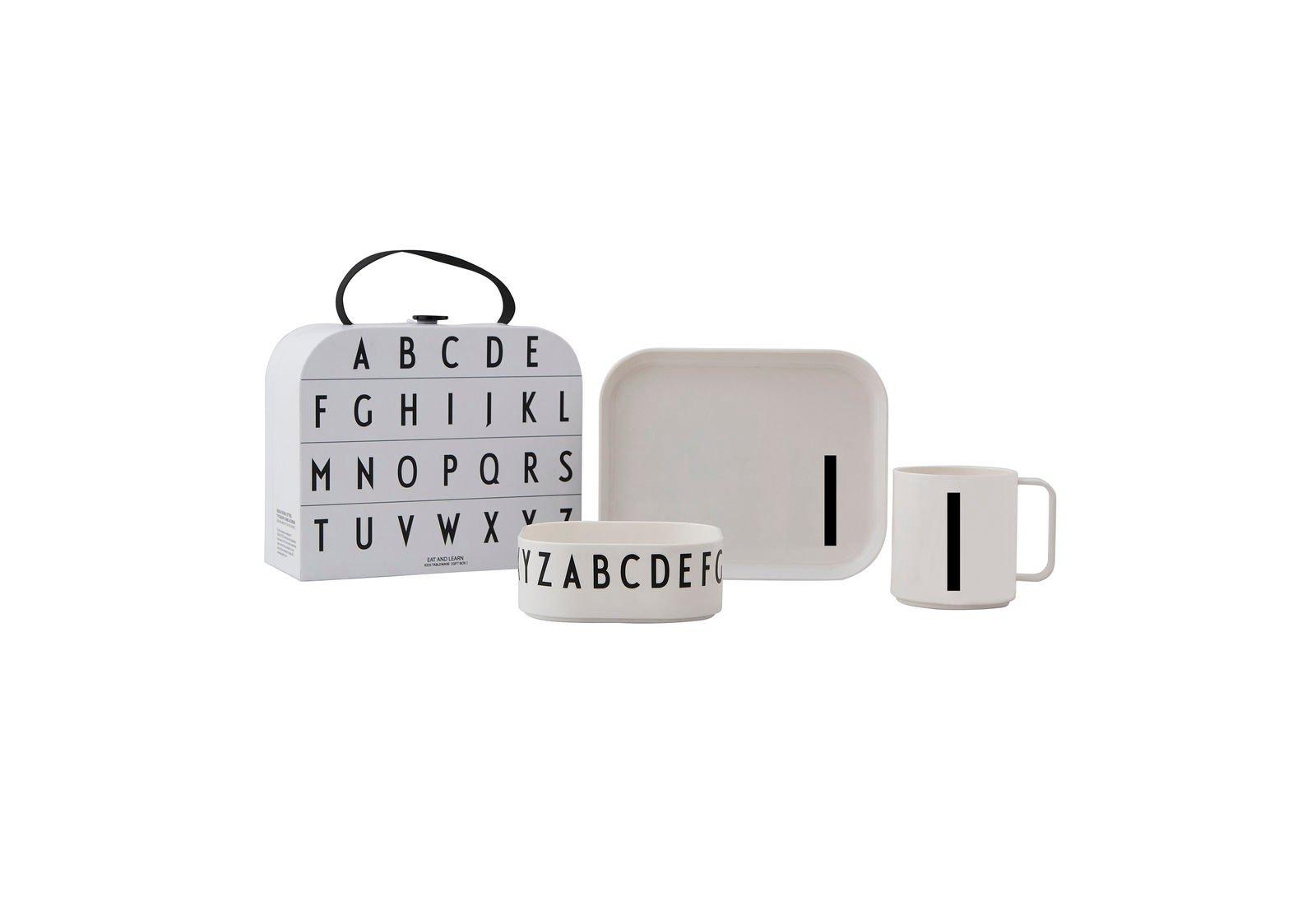 Design Letters - Gift Box Tritan Eating Set - I (20201500I)