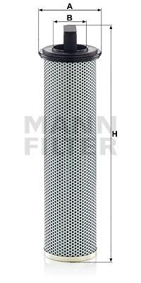 Suodatin, työhydrauliikka MANN-FILTER HD 11 005