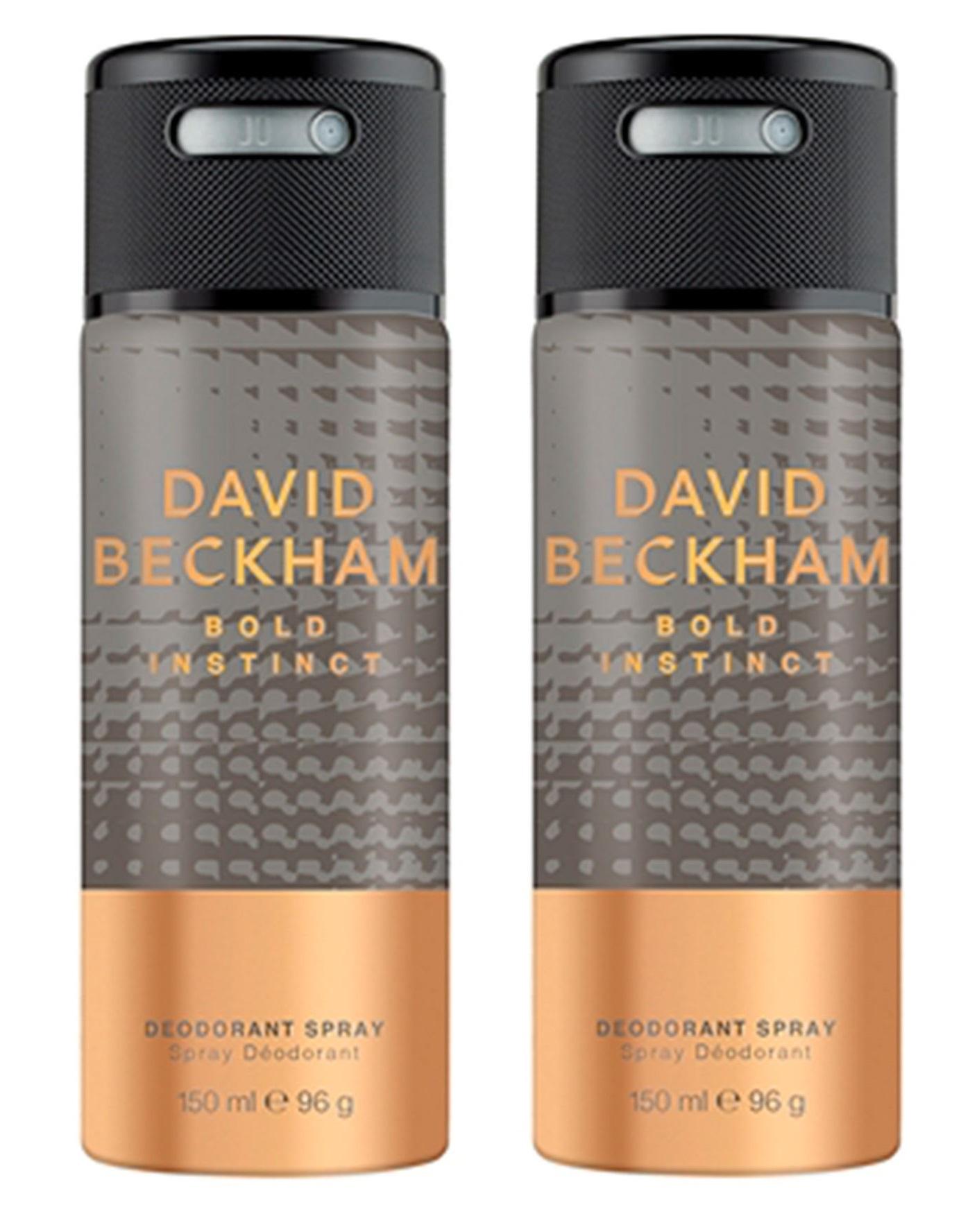 David Beckham - 2x Bold Instinct Deodorant Spray