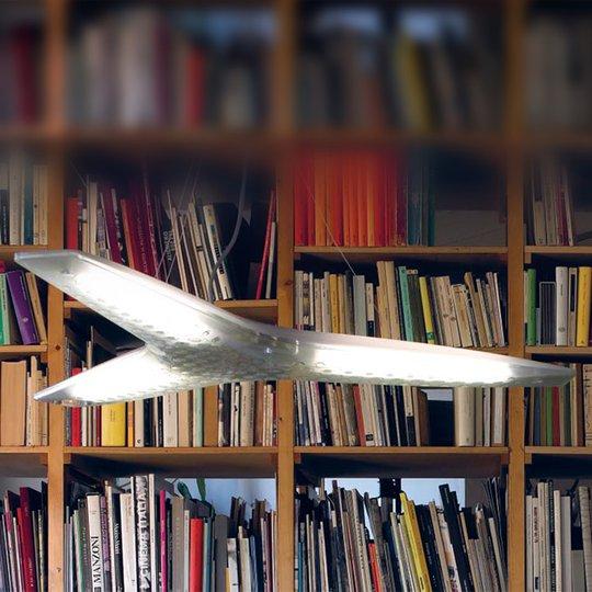Kolmilamppuinen Aircon-design-riippuvalaisin