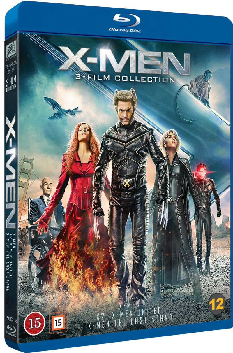 X-Men Original Trilogy (Blu-Ray)