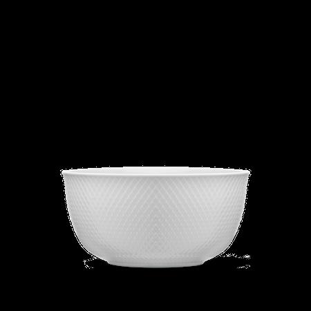 Rhombe Serveringsskål Ø22 cm Hvit Porselen