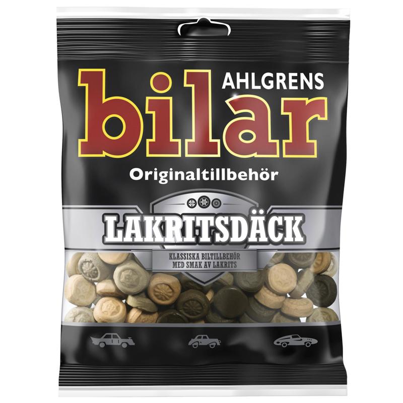 Ahlgrens Bilar Lakritsdäck - 28% rabatt