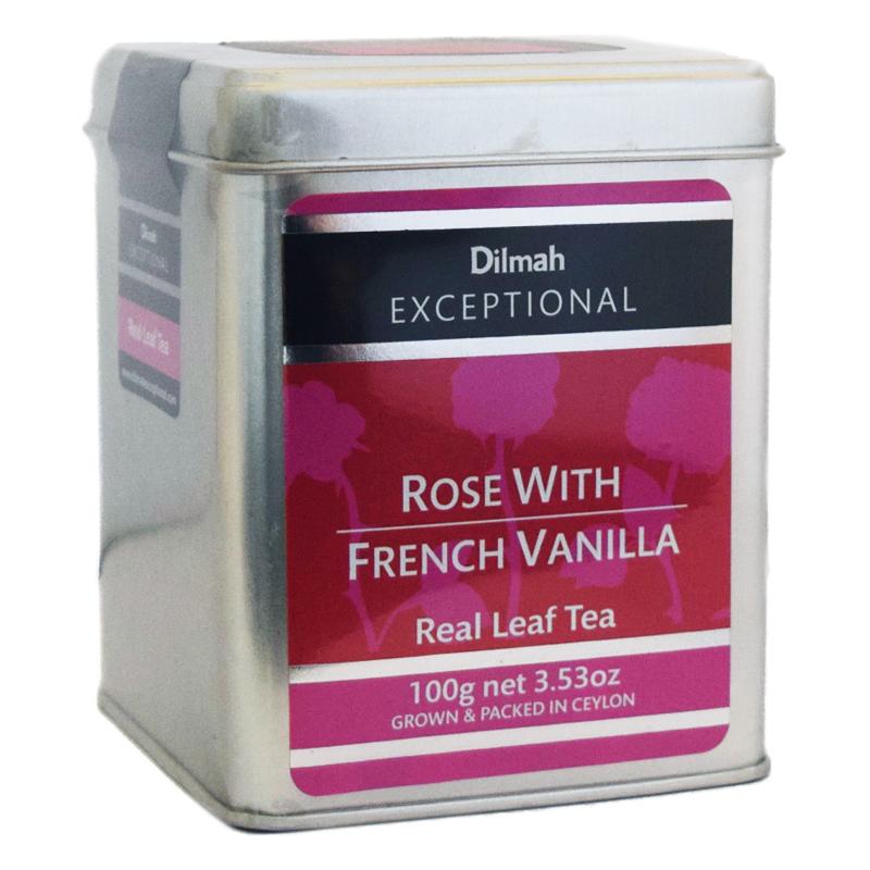 """Ceylonte """"Rose With French Vanilla"""" 100g - 64% rabatt"""