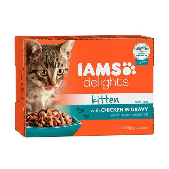 Iams Delights in gravy Multipack Kitten