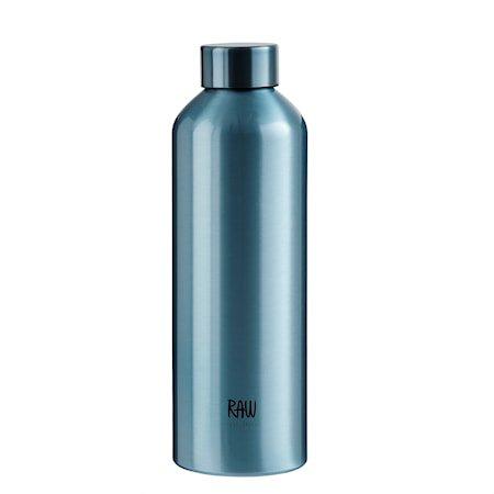 Raw To Go Flaske Aluminium Blue 0,75 L