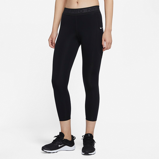 Nike Wmn Pro 7/8 Tights, Black