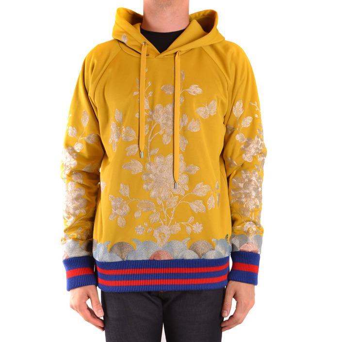Gucci Men's Sweatshirt Yellow 167564 - yellow M
