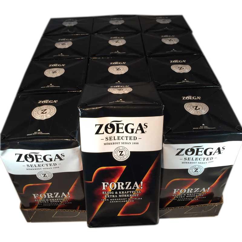 Hel Platta Zoega Forza bryggkaffe - 45% rabatt