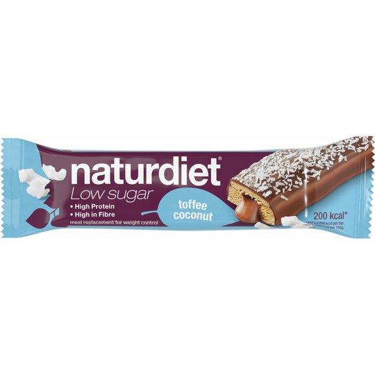 """Mealbar """"Toffee & Coconut"""" 58g - 37% rabatt"""