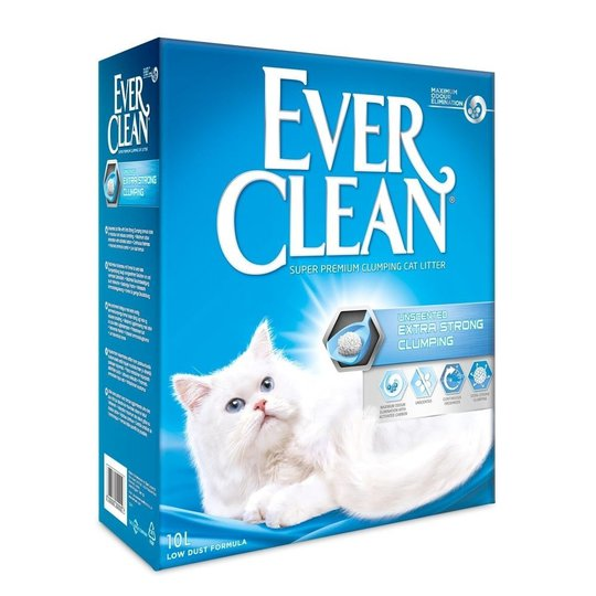 Ever Clean Xtra Strong Unscented Kattsand (10 l)
