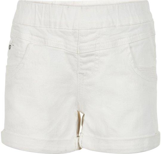 Creamie Colored Denim Shorts, Cloud 110
