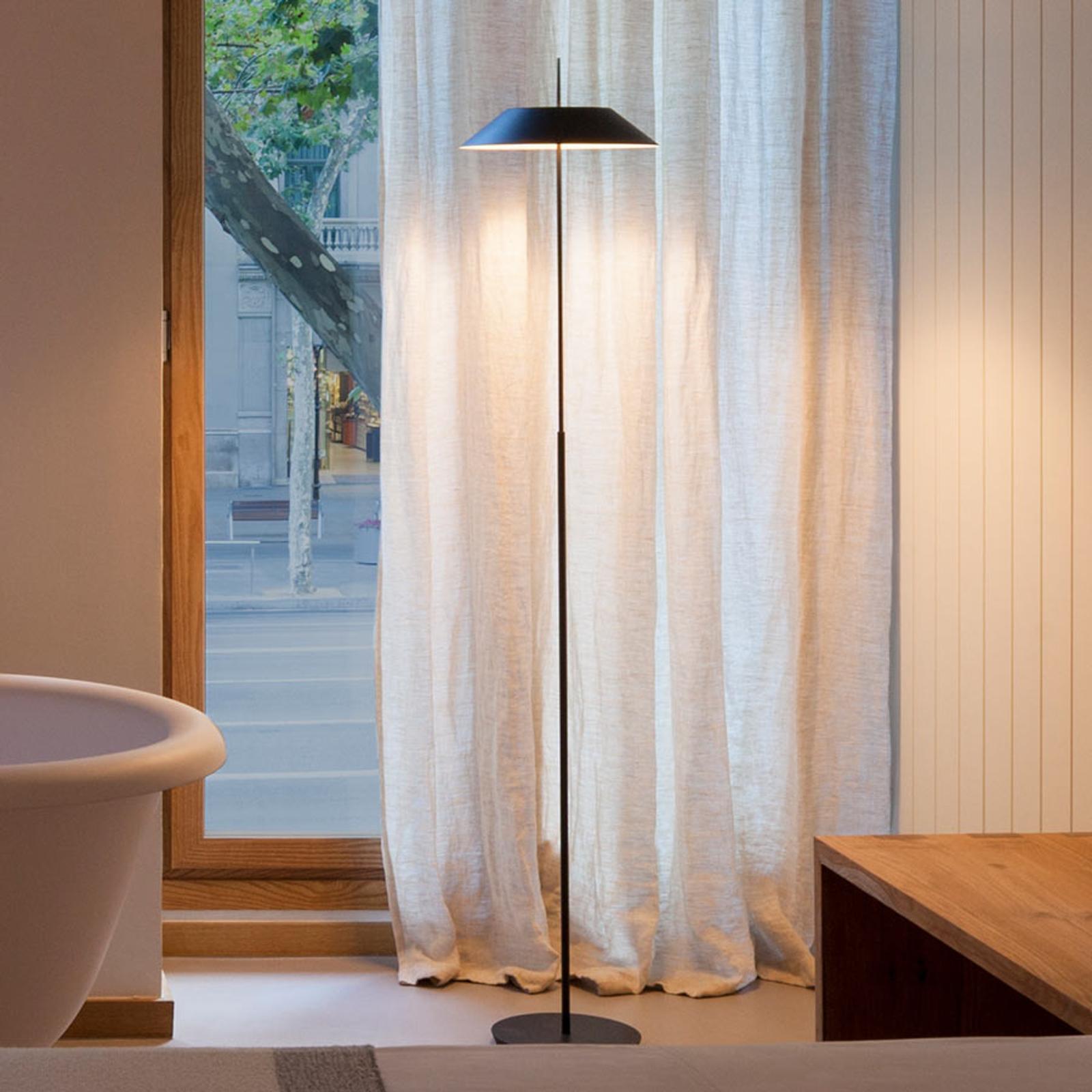 Mayfair - grafiitinharmaa LED-lattialamppu