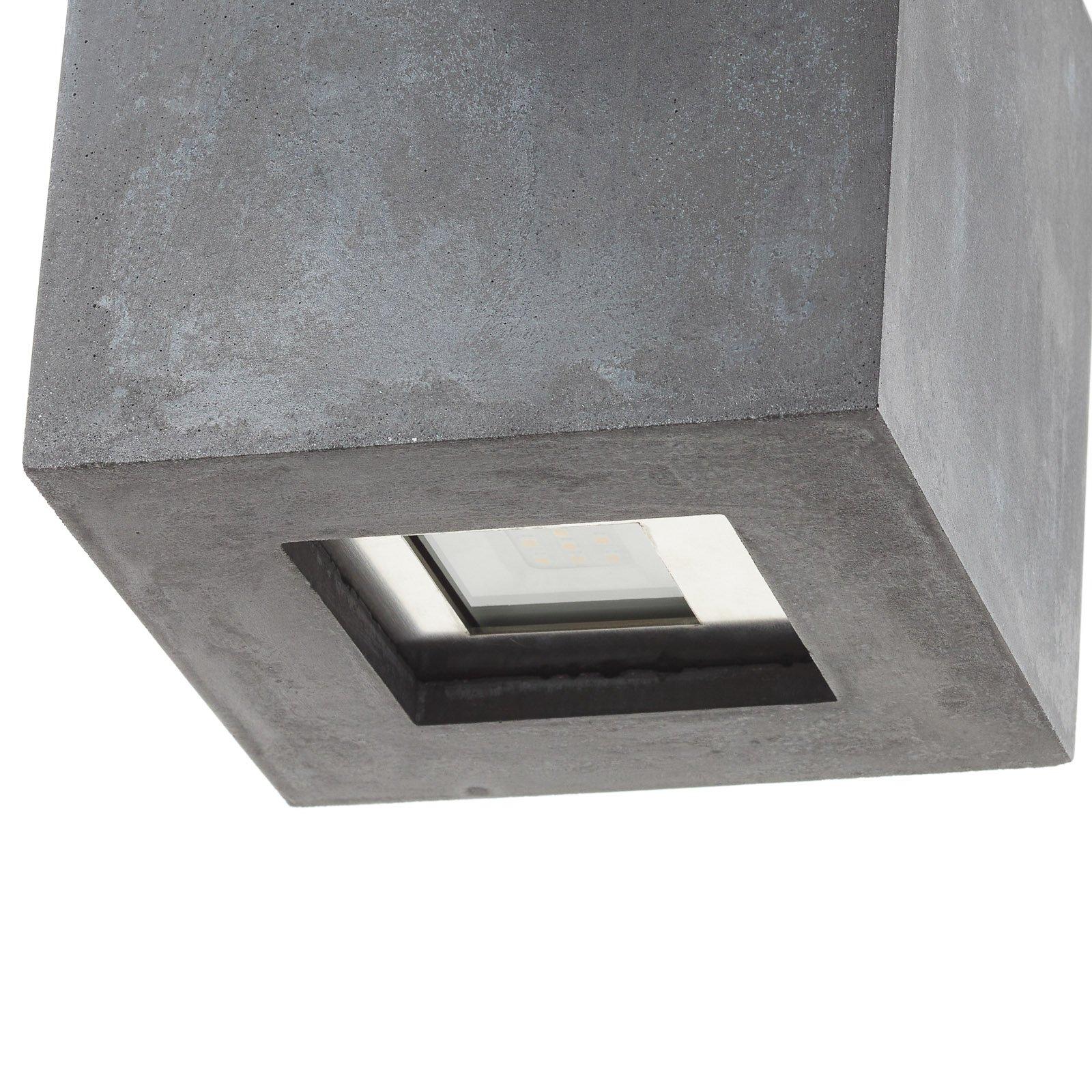 LED-taklampe 1094 for utendørs bruk, svart