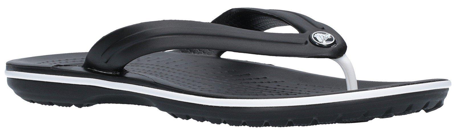 Crocs Unisex Crocband Flip Flops Various Colours 21067 - Black 9