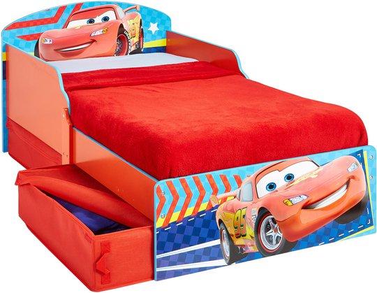 Disney Cars Juniorseng med Oppbevaring